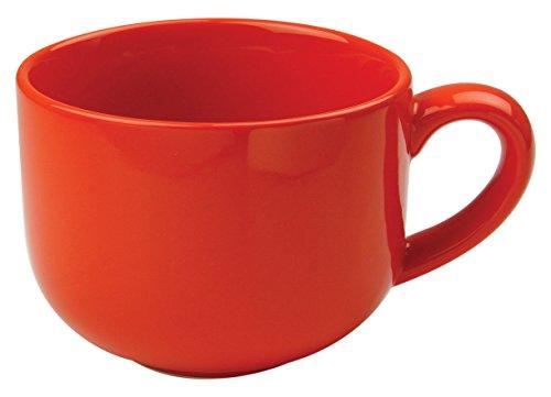 Omniware 1011045 Jumbo Mugs with Handle Set of 4 24 oz Orange