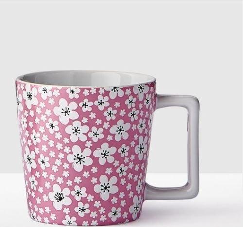 Starbucks 2017 CHERRY BLOSSOMS Pink Mug - 12 oz