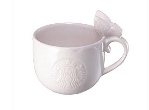 Starbucks Korea 2017 Butterfly Pink Mug 237ml