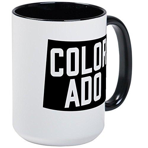 CafePress - Colorado - Coffee Mug Large 15 oz White Coffee Cup