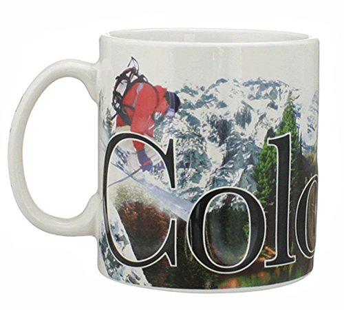 Colorado - ONE 18 oz Coffee Mug Full Color
