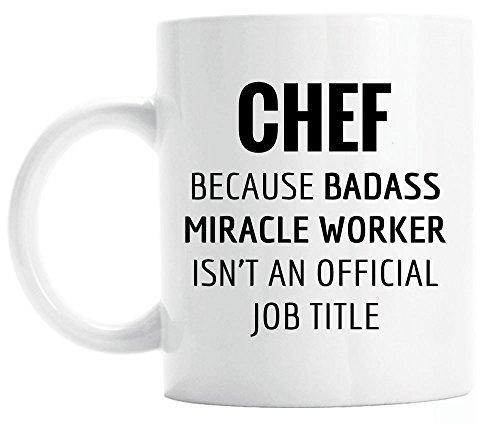 Gift for Chef Funny Chef Coffee Mug Graduation Gift