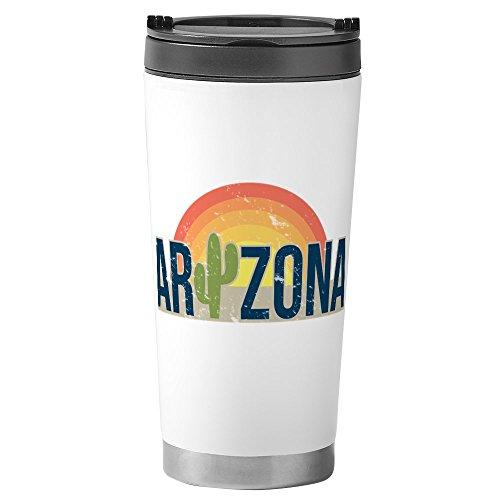 CafePress - Arizona - Stainless Steel Travel Mug Insulated 16 oz Coffee Tumbler