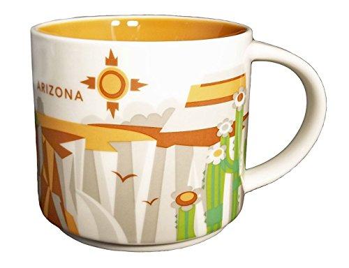 Starbucks You Are Here Series 2013 Arizona Coffee Mug 011024667