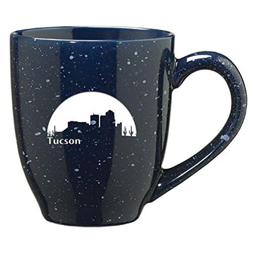 Tucson Arizona-16 oz Ceramic Coffee Mug-Navy