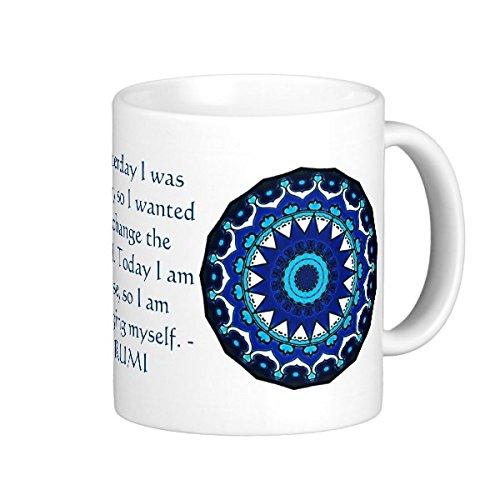 Inspirational Personalized Mug Rumi Create Coffee Mug
