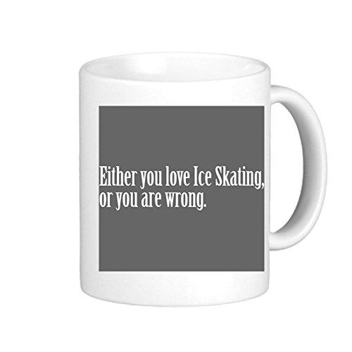 SthAmazing Ice Skating Love Pride Proud Create Coffee Mug Personalized Photo Mugs