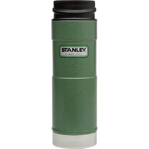 STANLEY Classic 16oz One Hand Vacuum Mug HAMMERTONE GREEN
