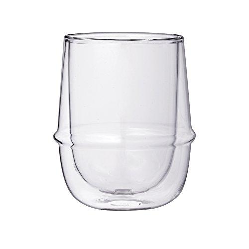 Kinto Kronos Glass Double Wall Coffee Cup