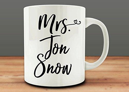 Interesting 11oz coffee cup-Mrs Jon Snow Mug  by NINNAYUAN