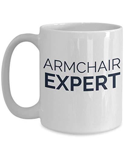 Armchair Expert Mug - funny coffee cup gift idea