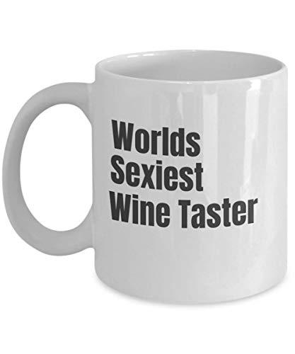 Wine Taster mug - Sexy wine tasters - Funny Coffee Cup Gift Idea - Best Birthday Christmas Present