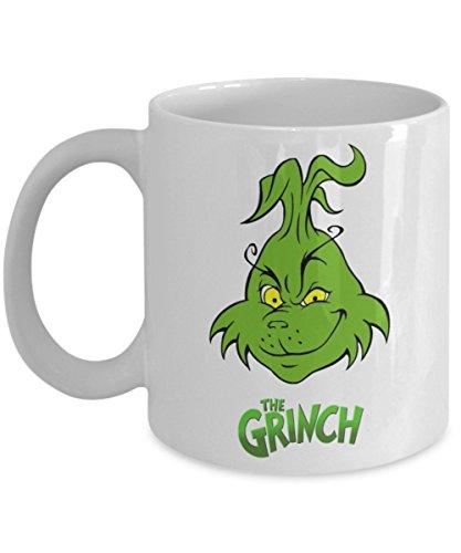 Funny Christmas Coffee Mug - The Grinch - Funny Saying Novelty Mug - Funny 11 OZCeramic Coffee Mug - Unique Gift Items
