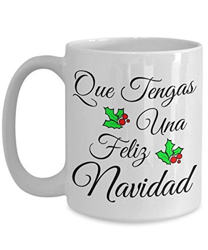 Que Tengas Una Feliz Navidad Taza De Café Have A Merry Christmas Coffee Mug