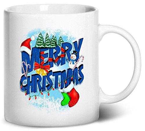 Tenacitee Merry Christmas Coffee Mug 11oz White