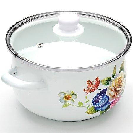 3.5 Liter Sauce Pot Enamel Casserole Pot 3.7-quarts Mayer & Boch Mb-23678