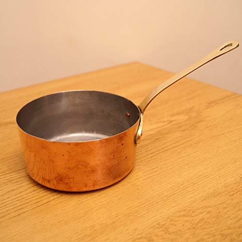 Restored by UkaVintage Copper Boiler PotKettle  Brass Handle  Vintage