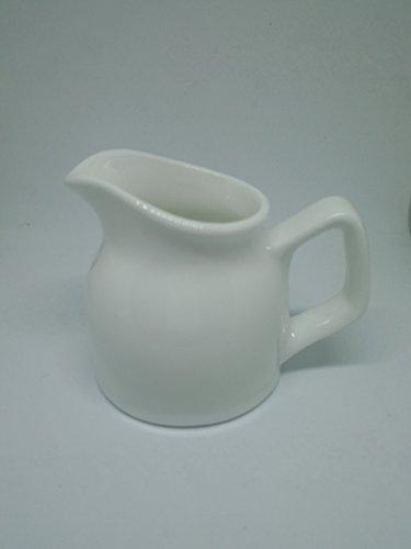 1 PCS X 25 Oz Cream Ceramic Jug  Pitcher Ceramic Milk Jug Pot Arrangement Vase White Espresso Coffee creamer pourer Kitchen For Home Decoration Coffer Latte Tea Coffee Good Use Cooking Tools