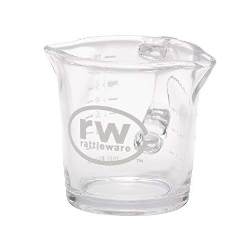 Rattleware 3-Ounce RW Logo Shot Pitcher Glass