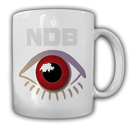 NDB of federal Switzerland eye secret intelligence espionage SWISS - Coffee Cup Mug