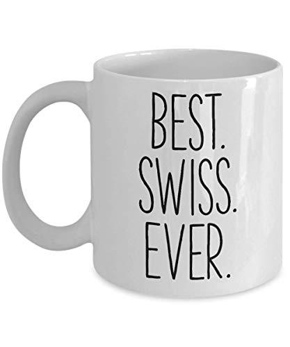 SWISS COFFEE MUG - SWITZERLAND THEME TUMBLER CUP