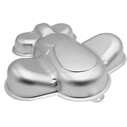 ZHYF 11 inch aluminum alloy three-dimensional cake mold aircraft model baking tools baking pan
