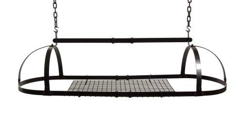 Advantage Components PPR1001 Premier Adjustable Oval Pot Rack
