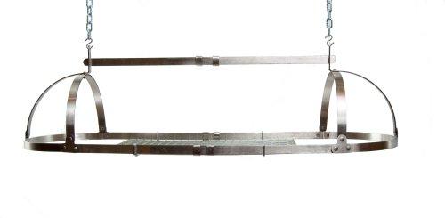 Advantage Components SPR1001 Adjustable Oval Pot Rack Stainless Steel
