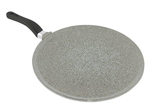 Mopita 32cm126 Non-Stick Cast Aluminum Crepe Pan Large Grey
