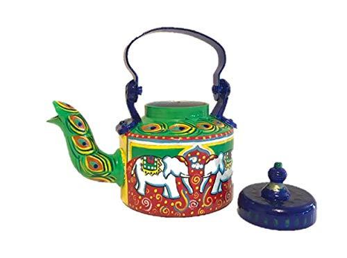 Hand painted Tea Kettle Home Décor Hasti Masti