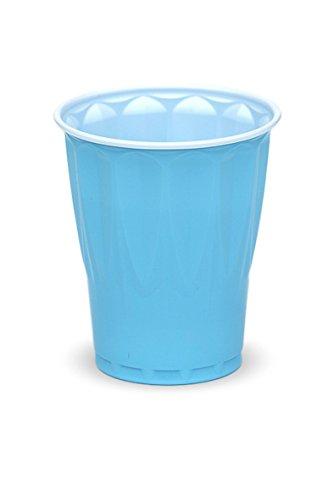 Pastel Blue Plastic Party Cup 18oz  200ct