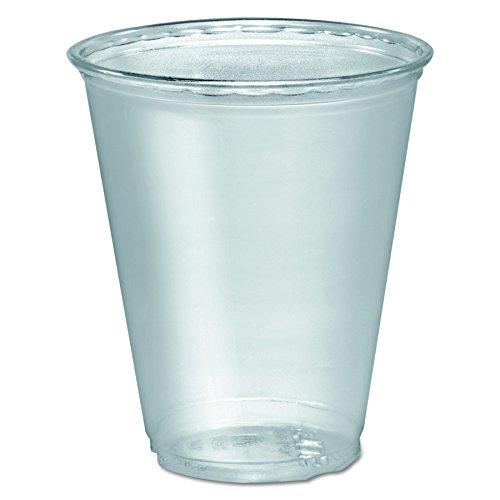 SOLO Cup Company TP7 Ultra Clear Cups 7 oz PET 50 Per Bag Case of 1000