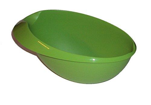 Tupperware 15L Saucy Server Large Prep Essentials Gravy Sauce Boat Bowl Green