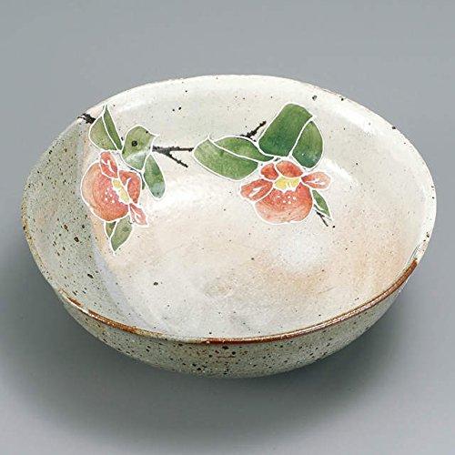Japanese Ceramic Porcelain kutani ware Serving dish Salada plate Camellia Japanese ceramic Hagiyakiya 232