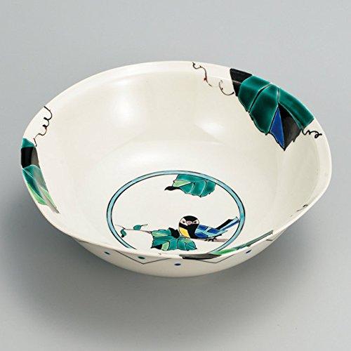 Japanese Ceramic Porcelain kutani ware Serving dish Salada plate Grape and bird Japanese ceramic Hagiyakiya 231