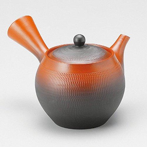 Japanese Teapot Kyusu Tokoname Youhen Hand-made Clay Teapot 11 flozY313