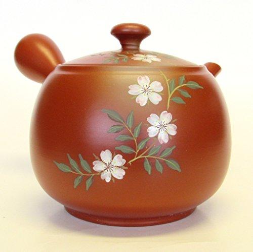 Japanese Teapot Kyusu tokoname Kiln Big size 22 Fl Oz hand-crafted