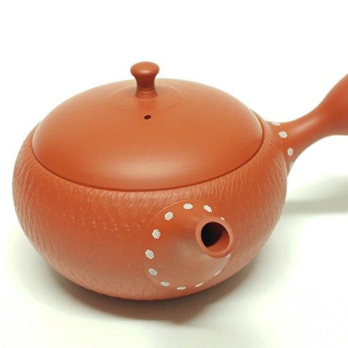 Japanese Teapot Kyusu  tokoname Kiln  potter Hokuryu  108 fl oz
