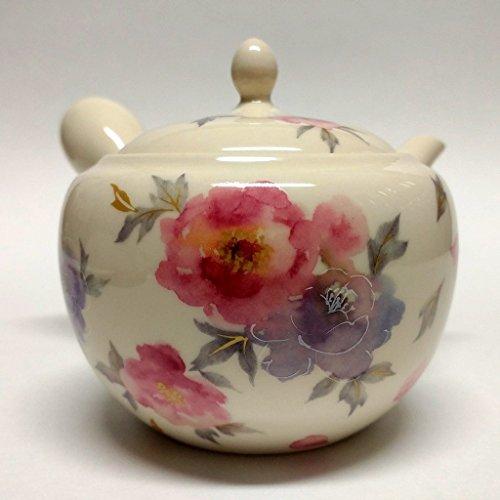 Japanese Teapot Kyusu  tokoname Kiln  pottery studio Sho  108 fl oz