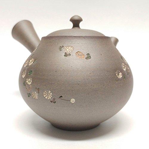 Japanese teapot KyusuTokoname kilnpotter Seiho Tsuzukitranquility 1