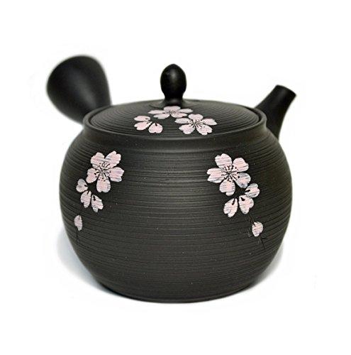 Tokoname Ware Gyokko Kyusu Teapot Sendan Sakura Design