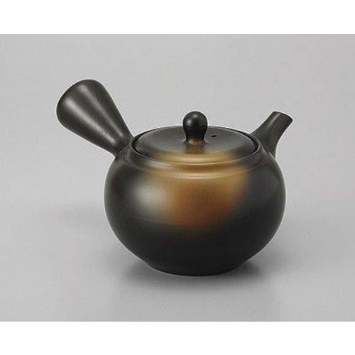 Tokoname teapot black mud blown teapot band Ami 360cc earthy taste ryokan Japanese style machine eating establishment business