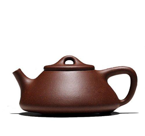 1pc Chinese Yixing Handmade Shi Piao Hu Zisha Clay Teapot 180cc Old Di Cao Qing Ni