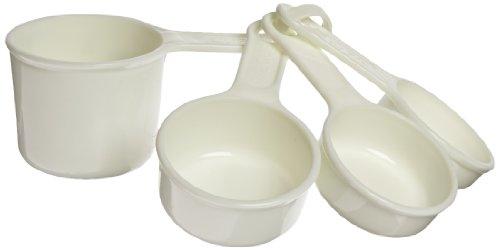 Rubbermaid Commercial Fg8315aswht 4-piece Measuring Cup Set, White