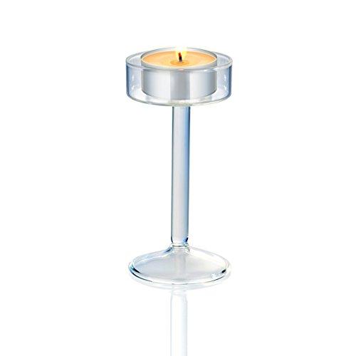 JinYiDianShop-European style high foot Candlestick crystal glass candlestick home decorations wedding supplies