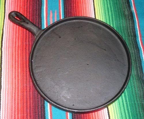 Oro Import Cast Iron Flat Griddle Comal Tortilla Fajita 8