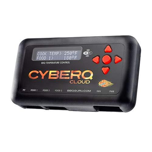 CyberQ BBQ Temperature Controller Digital Meat Thermometer for Big Green Egg Kamado Joe Weber and Ceramic Grills