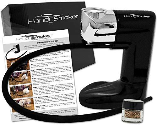 Handy Smoker PRO Cold Smoker - Hand Held Smoke Gun for Smoking Food - Smoke Infuser Adds Real Wood Smoked Flavor to Food Drink