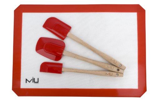 Miu France Silicone Liner And 3-piece Spatula Set