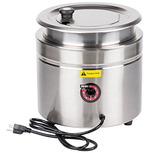 Avantco W800 11 Qt Stainless Steel Countertop Soup Kettle Warmer - 120V 800W